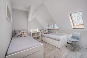 Pokój z pojedynczymi łóżkami - Fitness Hostel