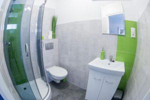 Dwuosobowy pokój z łazienką - Hostel Wrocław