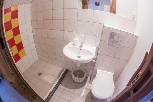 Pokój jedno osobowy łazienka Hostel